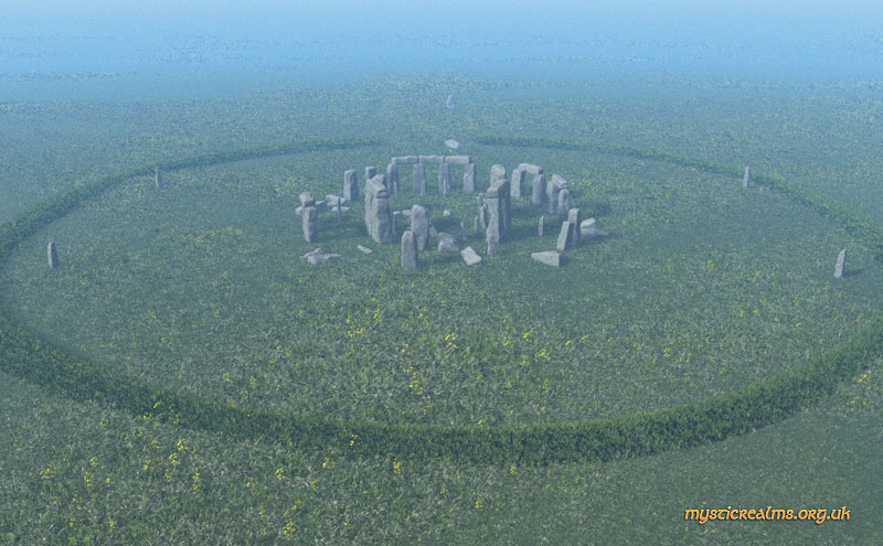 Stonehenge Now Aerial View By Mystic Realms